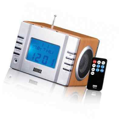 AUGUST MB300 - Clock Radio with MP3 Alarm