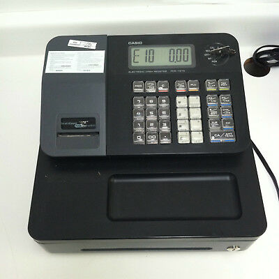 Casio PCR-T273 Electronic Cash Register Working W/ KEY