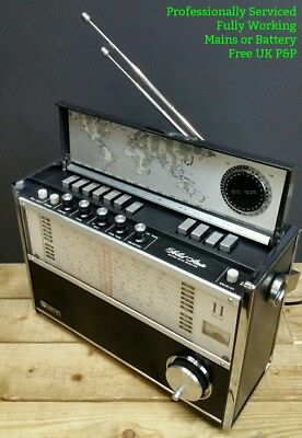 REFURBISHED Koyo Denki KTR1770 Vintage 11-Band FM AM SW Radio Receiver 1970s