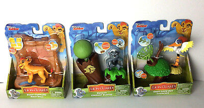 Disney The Lion Guard Playset Lot of 3 Kion Bunga Ono Action Figure Toy Set NEW