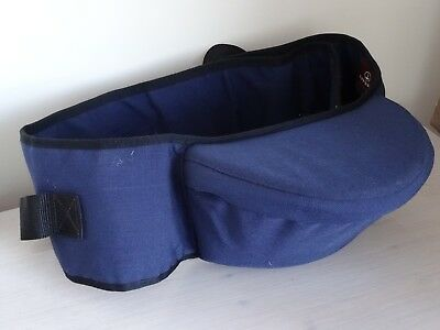 Hippychick navy hipseat baby child carrier support