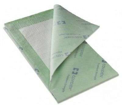 """Covidien P3036PS Wings Quilted Premium Underpads, 30"""" x 36"""", Green 10/Pack"""
