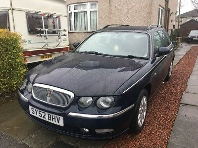 Rover 75 diesel Tourer with rare self levelling suspension and traction control