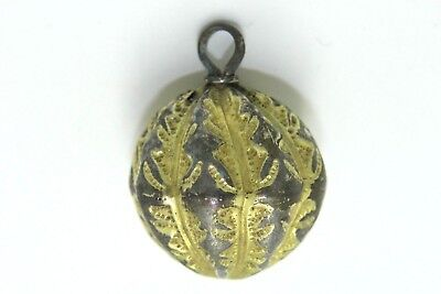 Stunning Gilded Silver Viking Pendant! Very Good Condition.    2V6