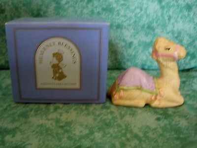 Vintage Heavenly Blessings Nativity Collection~1986~Camel~Mint~Iob