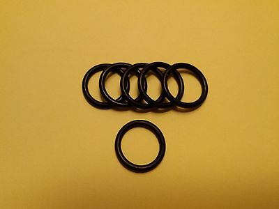6 x Suzuki DRZ400 small oil filter pump o ring seal ( engine service part ) new