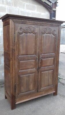 FRENCH ARMOIRE / WARDROBE  c1800s