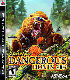 Cabela's Dangerous Hunts 2009 (Sony PlayStation 3, 2008) Brand New
