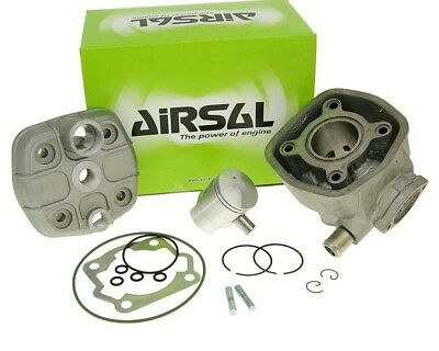 Zylinder Kit Airsal Sport Gray Cast Iron 50 cc for mzyo0on EBE, EBS