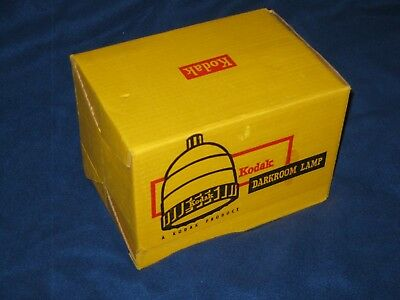 Vintage Kodak Darkroom Lamp w/ Box