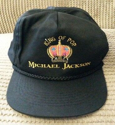 Michael Jackson King Of Pop official baseball cap Dangerous Tour 1992/93 MINT MJ