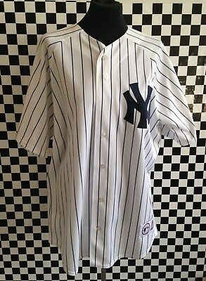 New York Yankees Baseball Jersey By Majestic- Large