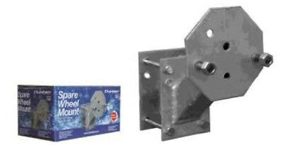 """Dunbier Spare Wheel Carrier Universal Suits 13"""" or 14"""" wheels"""