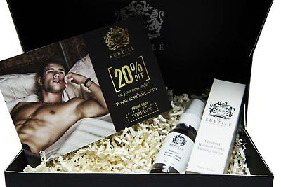LE SUBTILE Luxe for men Vitamin C, Human Growth Firming Serum