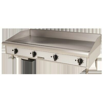"Griddle Flat Top Grill Gas 48"" Manual Toastmaster TMGM48"