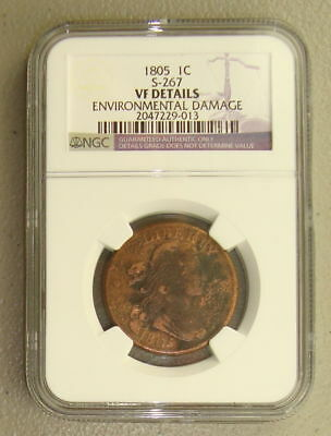 1805 Draped Bust NGC SIGNED****