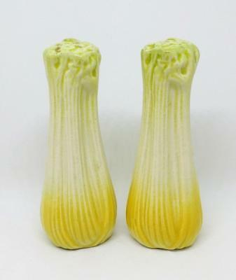 Vintage Collectable Darbyshire Celery Salt And Pepper Shakers Made In Australia