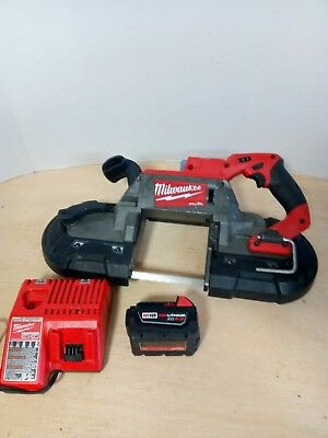Milwaukee 2729-20 M18 FUEL 18V Cordless Brushless Lith-ion Deep Cut Band Saw Kit