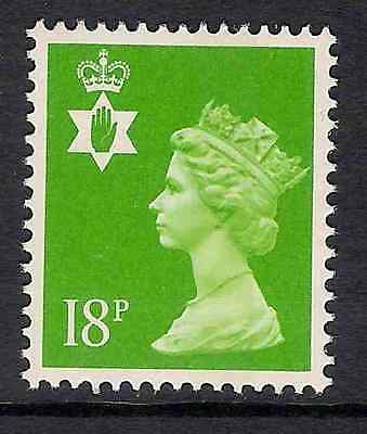 Northern Ireland 1991 NI47 18p litho centre band perf 15x14 Regional Machin MNH