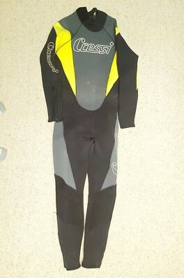 Cressi 5mm Diving wetsuit for men