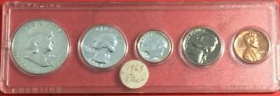 1963 US SILVER PROOF SET! Old US Coins!