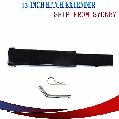 "7.7"" Inch Hitch Extender Extension Tow Bar Adapter Trailer 2"" 4WD Car Heavy Duty"