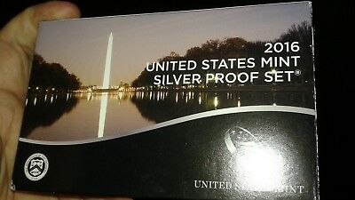 2016 Silver US Proof Set