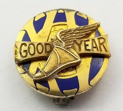 Vintage Antique 1930s-1940s Good Year Gold Filled Pin