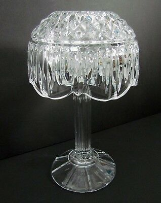 Shannon Crystal Designs of Ireland Retro Tea Light Votive Candle Lamp 2 Piece 8""