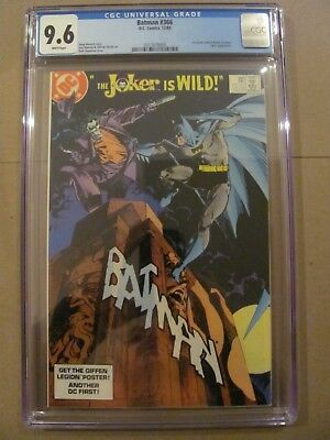 Batman #366 DC Comics 1st Jason Todd in Robin Costume Joker app CGC 9.6 NM+