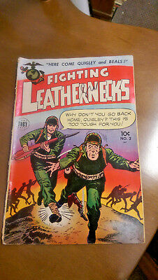 Fighting Leathernecks #2 - Comic - 1952