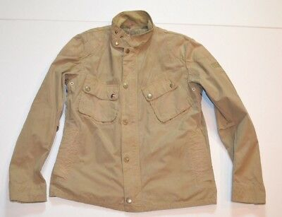 NWT Barbour 9665 Steve McQueen Waxed Jacket Moto M Medium