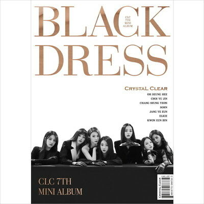 CLC - Black Dress (7th Mini Album) CD+Booklet+Post Card+Photo Card New