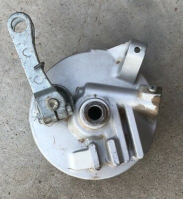 1987 Honda NB50 Aero Scooter Front Brake Backing Plate NB 50
