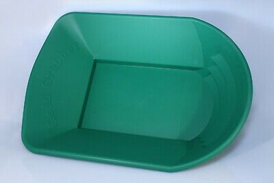 Green Gold Grabber Gold Pan by Alan Trees for gold prospecting or gold panning