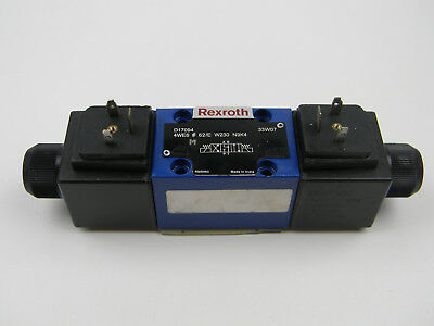 Rexroth Hydraulics 4WE6 M Y62/EG230N9K4  Directional Solinoid Valve