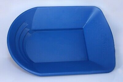 Blue Gold Grabber Gold Pan by Alan Trees for gold prospecting or gold panning