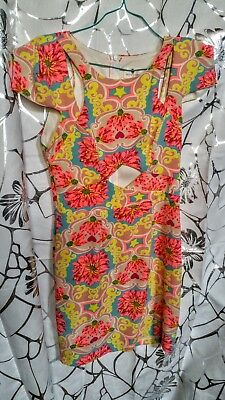 Vintage Dress 1970s Size 6 One of a Kind
