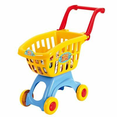 Playgo 13 Piece My Little Shopping Cart Trolley Set Kids Pretend Play Toy 3240