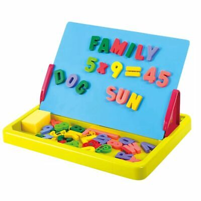 Playgo Portable Magnet & Drawing Writing Board Alphabet Letters Numbers 7328