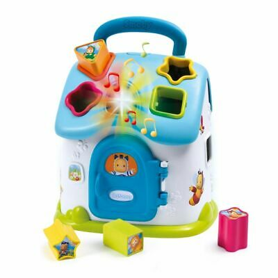 Smoby Cotoons Baby Toddler Play Shape Sorter House Teaching Toy Blue 110403