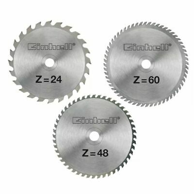 Einhell HM Saw Blade Set 210 x 30 x 2.5 mm AK for Aluminium Hardwood Cutting