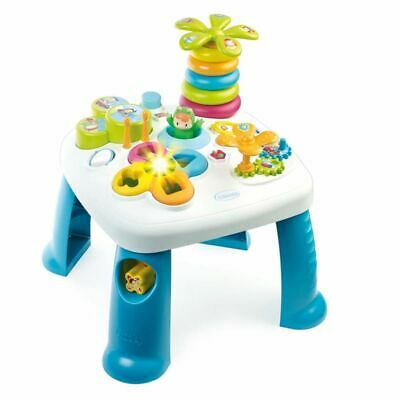 Smoby Cotoons Baby Toddler Play Musical Activity Table Shape Sorter Blue 211169