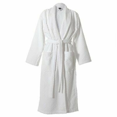 Sealskin Bathrobe Nightwear Loungewear Gown Porto Men Size L White 16361348810
