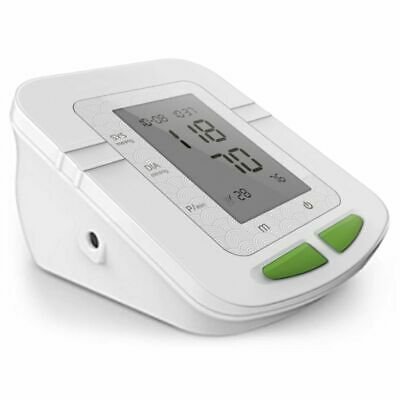 Parcura Upper Arm Blood Pressure Measurement Pulse Monitor Tool White 85823