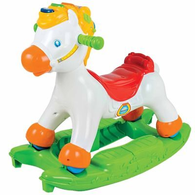 Clementoni Rocking Horse Spring Riding Toy Kids Activity Centre Rocky 66555