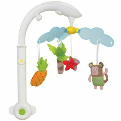 Taf Toys Tropical Musical Baby Toddler Infant Crib Cot Pram Bed Mobile 11885
