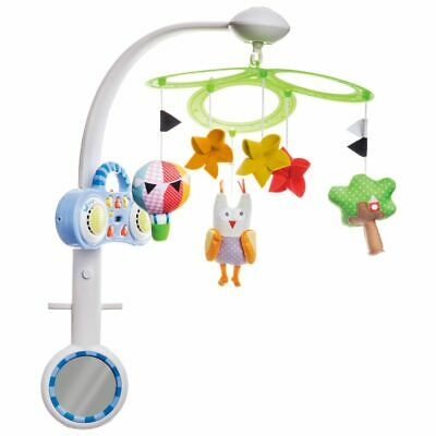 Taf Toys MP3 Stereo Mobile Owl Baby Toddler Infant Cot Crib Pram Mobile 11895
