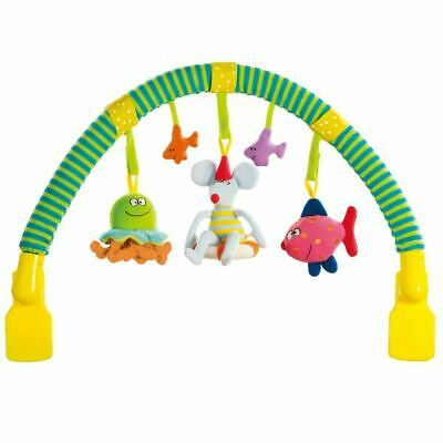 Taf Toys Arch and Touch Toy Toddler Pram Crib Bed Activity Baby Mobile 10565