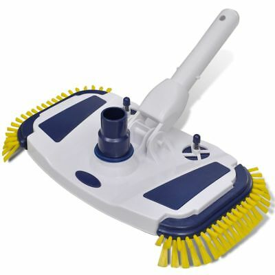 Pool/Spa Vacuum Head Cleaner Brush Pool Sweep Side Brushes Deluxe Weighted